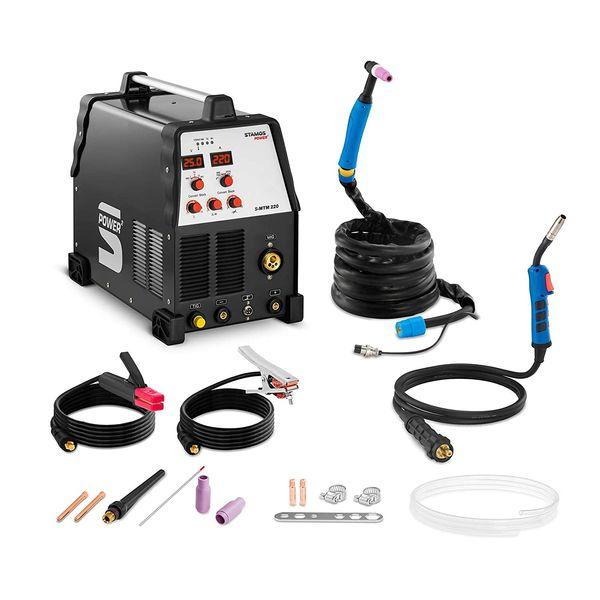Stamos Power - SMTM 220 Schweißgerät Test