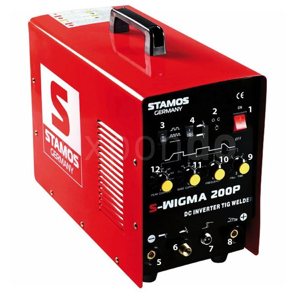 Stamos Germany - S-WIGMA 200P Schweißgerät Test