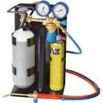 Rothenberger Industrial – Roxy 400 L – Autogenschweißgerät / Hartlötgerät - inklusive Gas & Sauerstoffbehälter