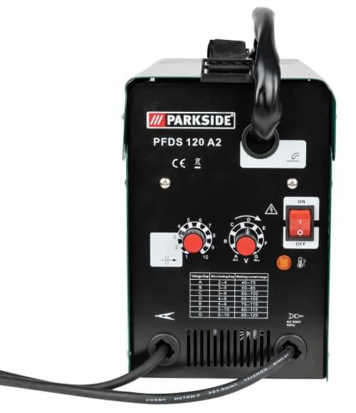 parkside® fülldraht-schweißgerät pfds 120 a1 im test 2020-2021